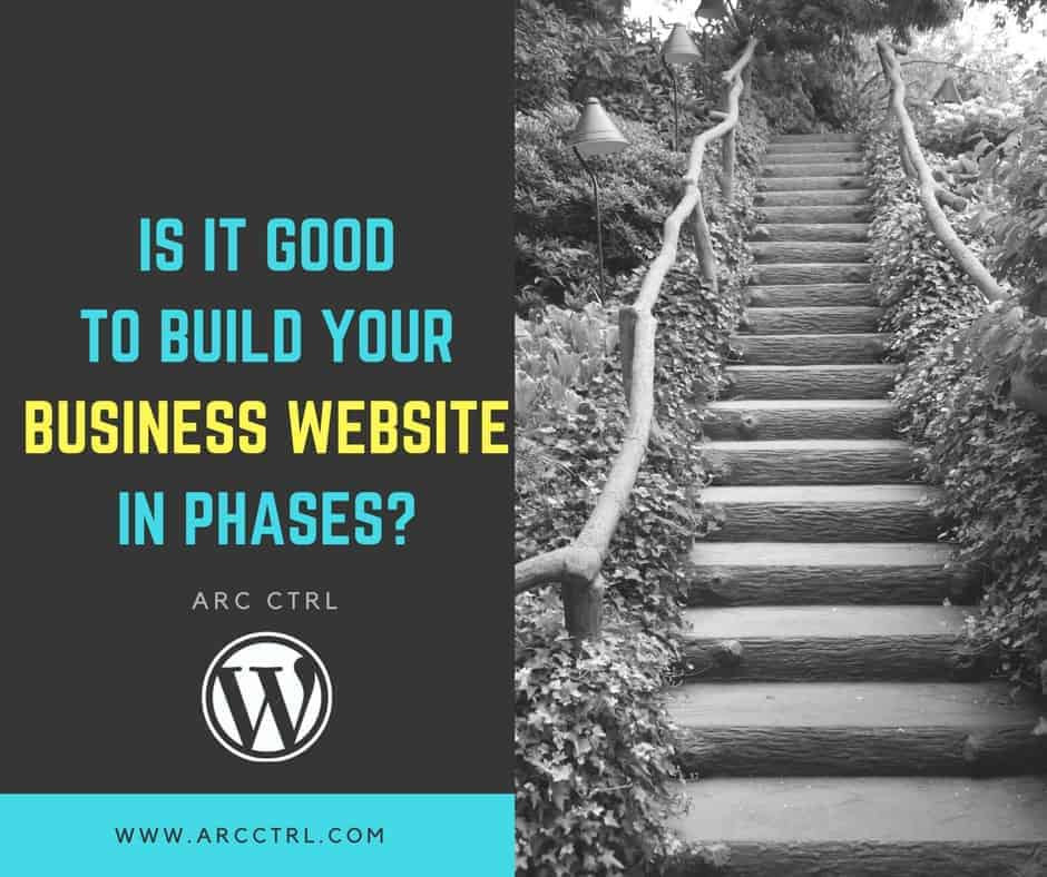 Business Website Phases
